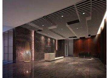 广州甲子遇资本办公室设计效果图