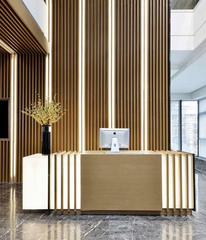 绿色办公室爱博lovebet设计效果图